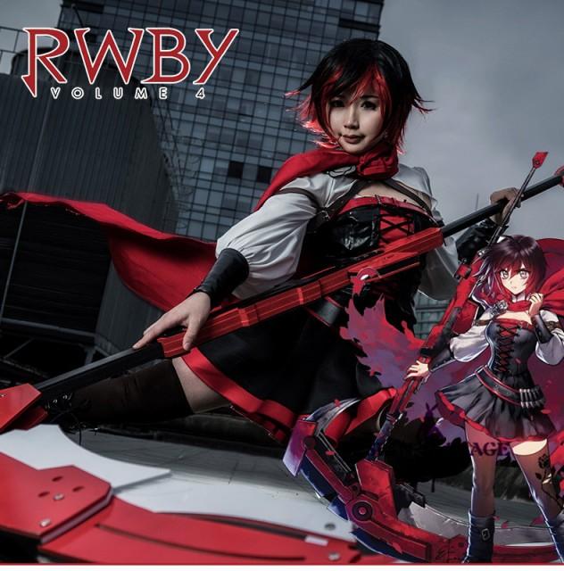 RWBY Volume 4 シーズン4 ルビー ローズ 大人風  ...