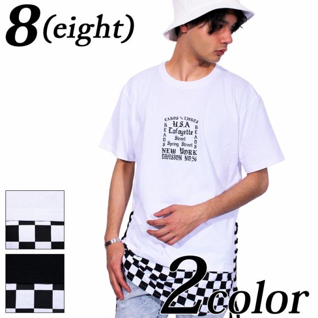 送料無料! Tシャツ メンズ 半袖 ロング丈 全2色 ...