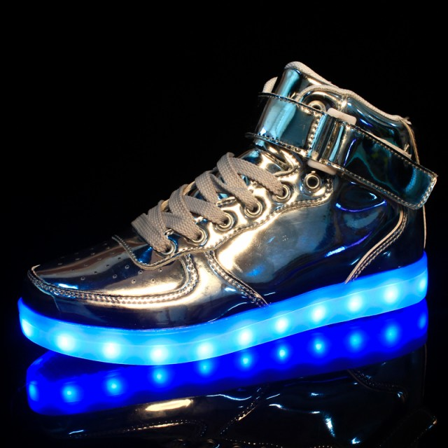 LEDスニーカーシューズ 光る靴 光るスニーカー 7...