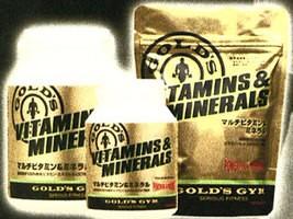 ゴールドジム マルチビタミン&ミネラル 180...