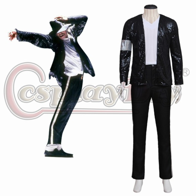 高品質 高級コスプレ衣装 マイケル ジャクソン 風...