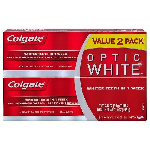 コルゲート Colgate オプティックホワイト スパー...