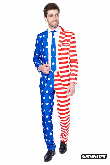 OPPO SUITS SUITMEISTER 【USA FLAG】正規品 ...