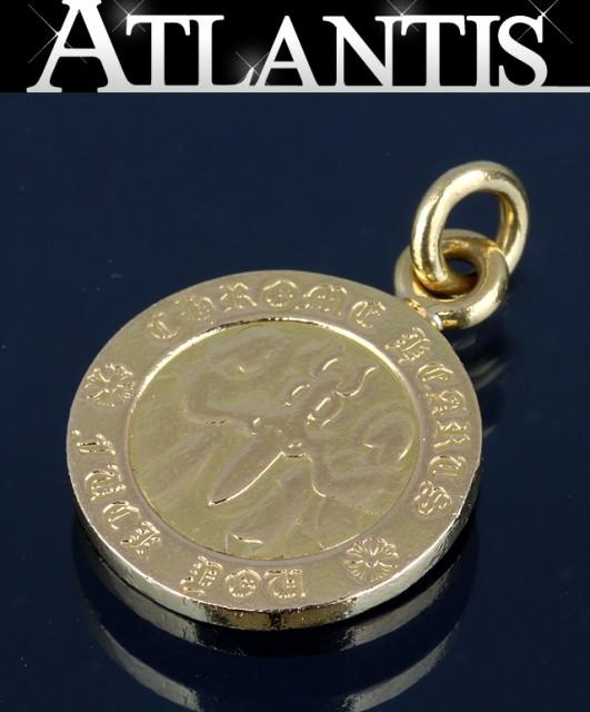 銀座 クロムハーツ 22K エンジェルメダル V1 チ...