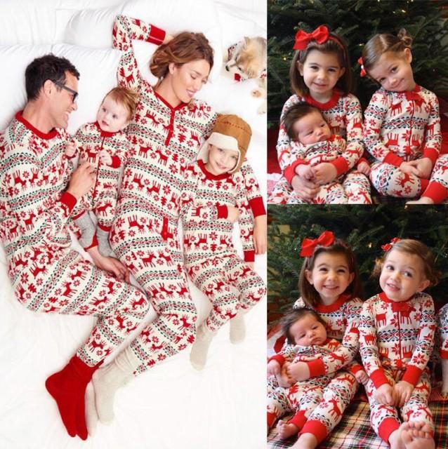 ★超人気★クリスマス 可愛い親子ペアルック 寝間...