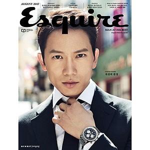 韓国男性雑誌 Esquire(エスクァイア)2017年 8月...
