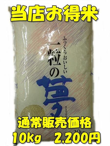 【精白米】28年版当店お得米10kg/規格外商品/...