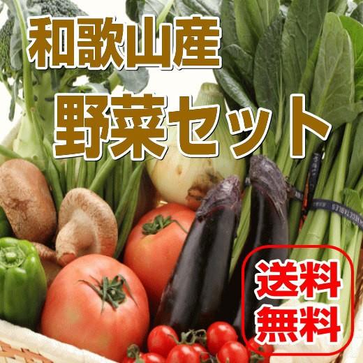 和歌山からたっぷり13種以上旬の野菜を詰め合わせ...