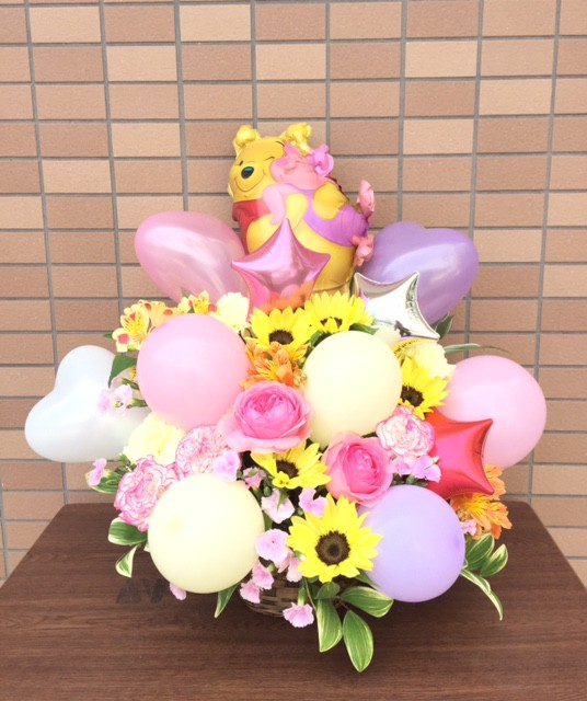 バルーンアレンジ キャラクター 【誕生日祝い・...