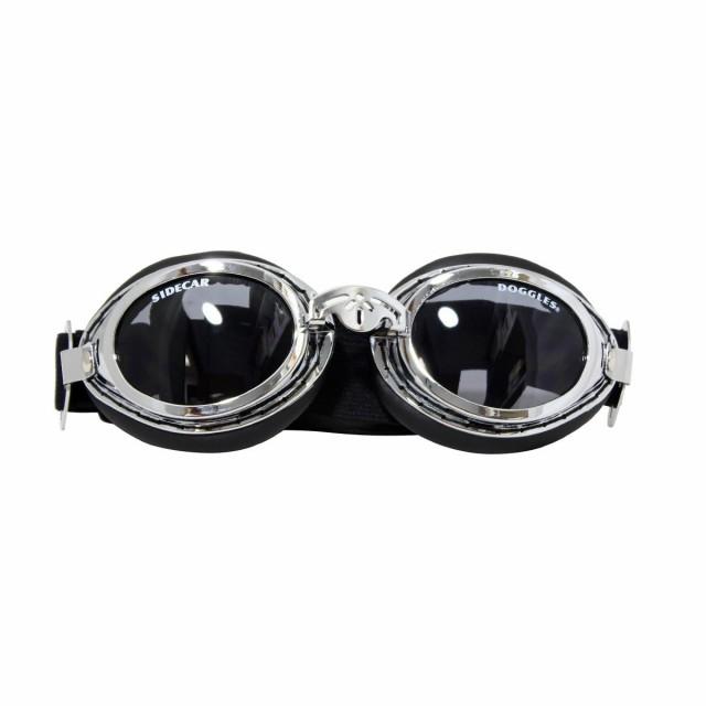 犬 ゴーグル 紫外線 Doggles Sidecar silver