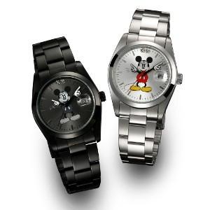 ディズニー世界限定腕時計ギミックアイミッキー(C...