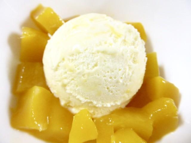 ハーフカット★マンゴー★500g/スウィーツ/デザート/アイス/果物/トッピング/冷凍