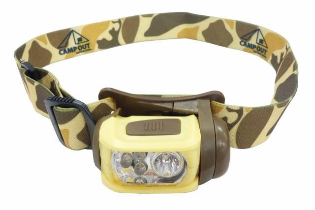 ヘッドライト キャンプアウト LED ヘッドライト ...