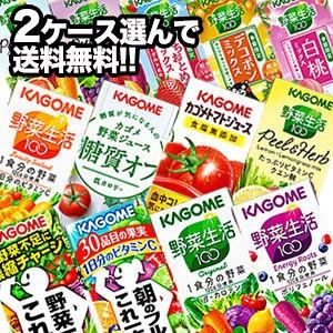 【送料無料】 カゴメ  200ml紙パック×24本×2ケ...