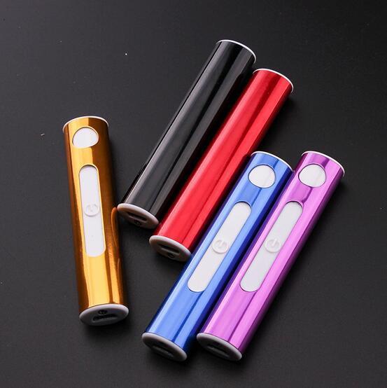 電子ライター スリム USBライター 電熱 充電式 US...