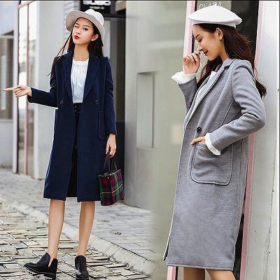【大きいサイズXL-4XL】ファッションコート♪ダー...