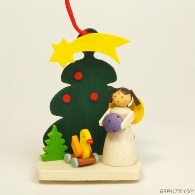 天使とツリー、アヒル