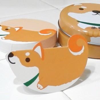 【柴犬 雑貨】どうぶつ めもかん しばいぬ (小型...
