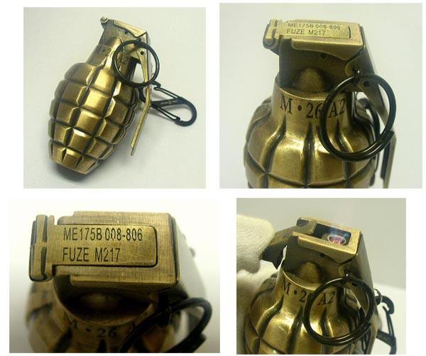 新品 GRENADE(手榴弾)型 本格ターボライター(古美...