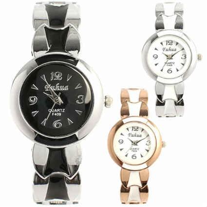5a4b02f9b1 腕時計 レディース レディース腕時計 バングルウォッチ キラキラ 安い おしゃれ プレゼント Jewel ジュエル 2トーンカラーの通販はWowma!