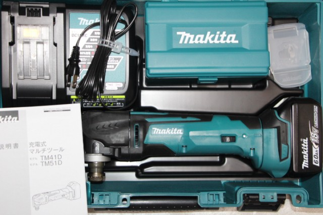 マキタ[makita]18V-6.0Ah充電式マルチツール TM51...