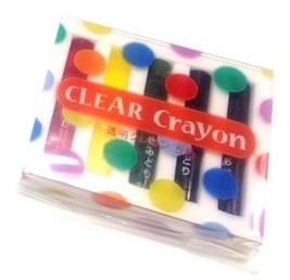 コクヨ 透明クレヨン 5色