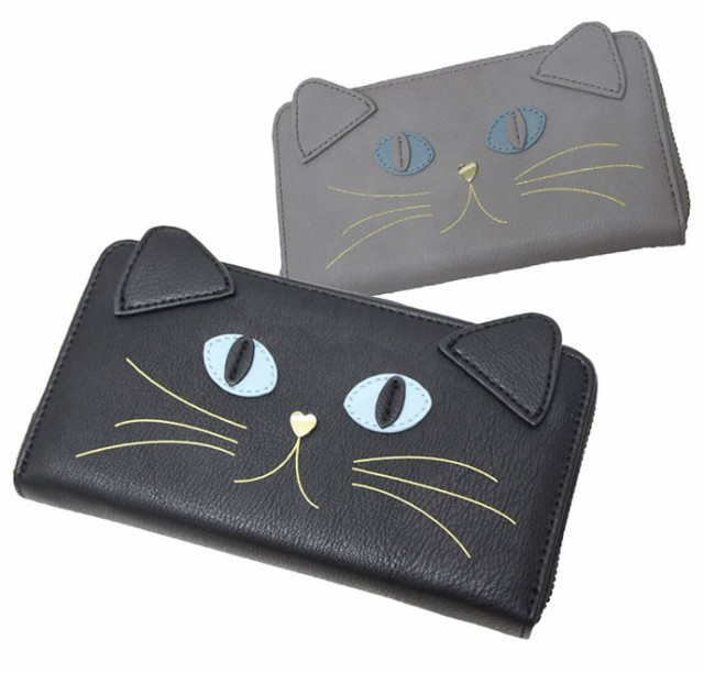 ロングウォレット(長財布)◆猫のジョセフィーヌ...