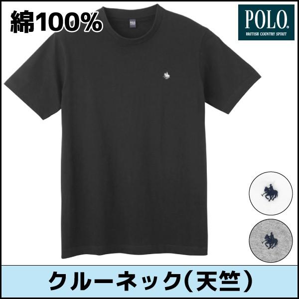 POLO ポロ クルーネックTシャツ グンゼ PBM113a