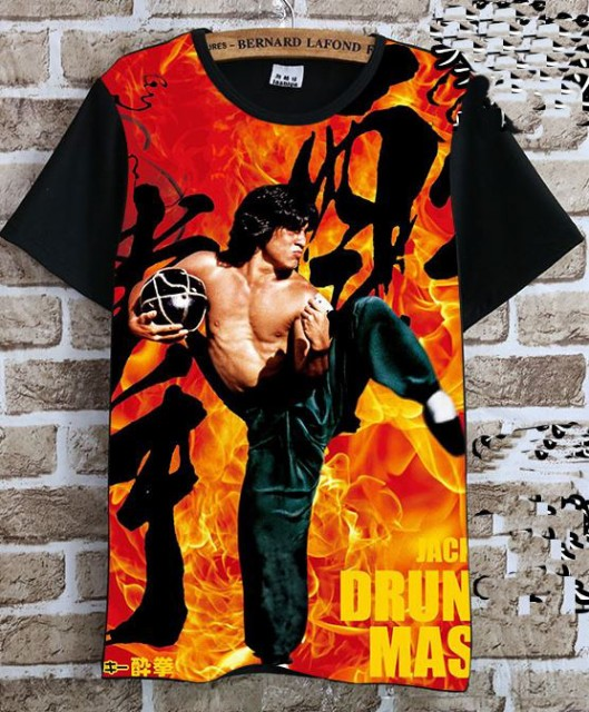 ジャッキー・チェン(成龍) Tシャツ 黒7