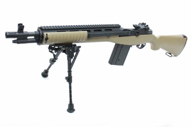 MATRIX電動ガン Knight's M14 SOCOM デザートカラ...