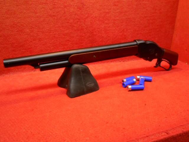 M1887 ソードオフ 木製ストック ガスショットガン...