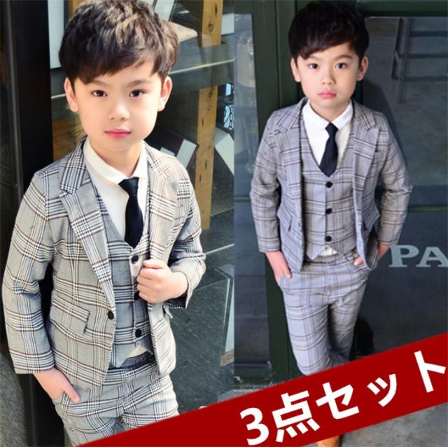 男の子 スーツ キッズ フォーマル タキシード子供...