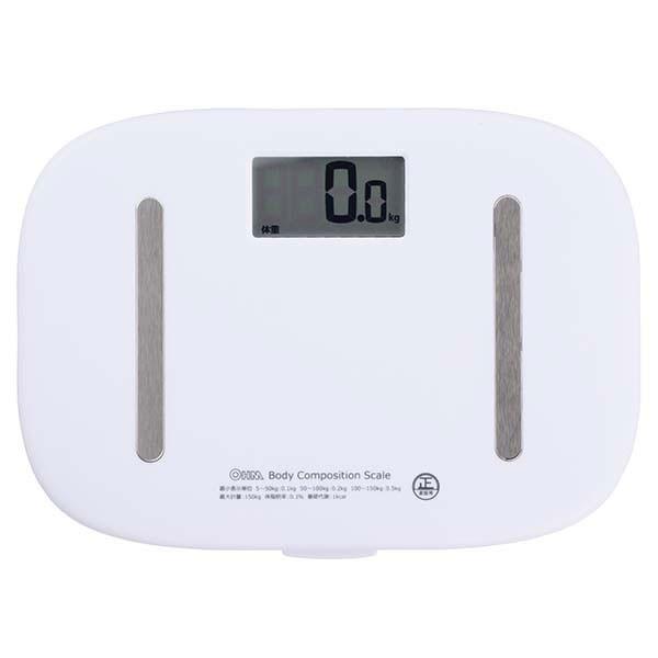 体重計 体重体組成計 HB-K110-W オーム電機 08-00...