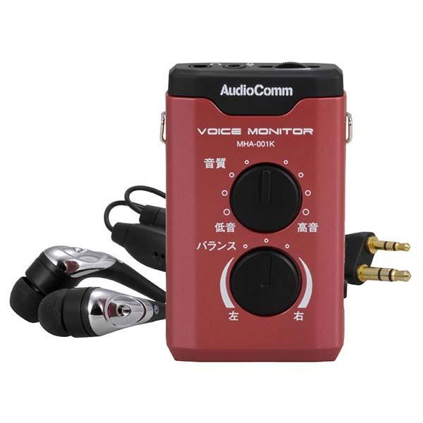補聴器 ボイスモニター MHA-001K オーム電機 03-2...