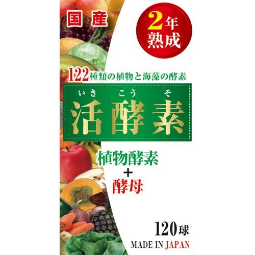 活酵素 120球 酵母 酵素 野菜 海藻 健康 元...