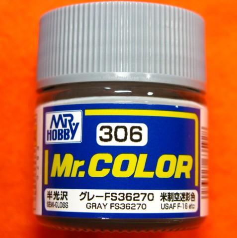 【遠州屋】 Mr.カラー (306) グレーFS36270 米制...