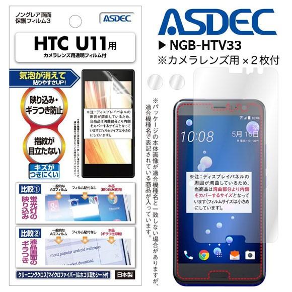 HTC U11 液晶フィルム NGB-HTV33【6153】 ノング...