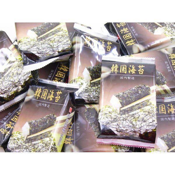 【送料無料】 韓国海苔(国内製造)8切6枚12パッ...
