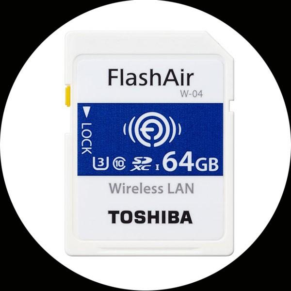 【送料無料memory-SD】東芝 FlashAir 無線SDHCカ...