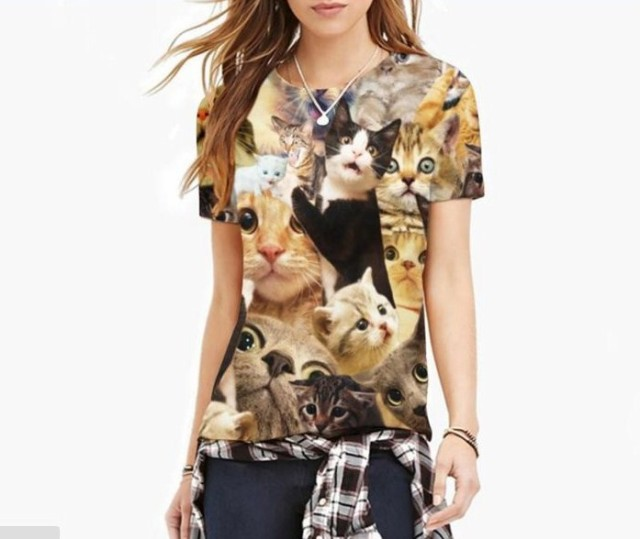 【送料無料】猫 猫柄 Tシャツ トップス メンズ ユ...