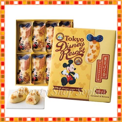 ミッキーマウス 東京ばな奈 キャラメルバナナ味 ...