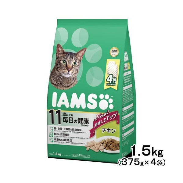 【 ペットフード 猫用 】アイムス 11歳以上用 毎...