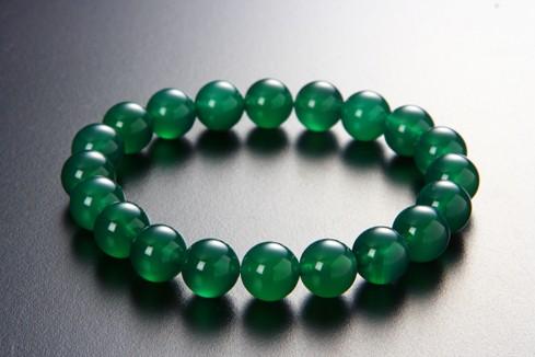 【2名限定アウトレット価格】緑めのうブレスレッ...