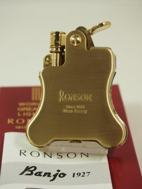 RONSON ロンソン・バンジョー金色ブラス RO1-002...