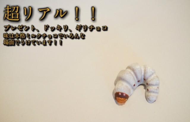 超リアル!かぶと虫の幼虫チョコレート 【冷蔵発...