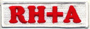血液型 ワッペン オリジナルワッペン RH+ 表記