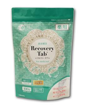 薬用リカバリータブ重炭酸イオン入浴剤100錠