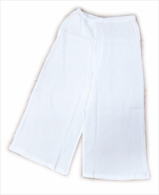 着物&浴衣和装下着 女性用楊柳綿ステテコ(下ば...