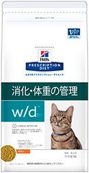 ヒルズ 猫用 w/d 4kg 特別療法食