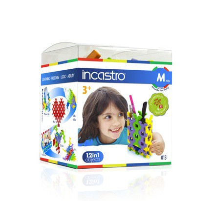知育ブロック INCASTRO(インカストロ)Mサイズ(...